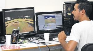 Des logiciels tels que Unity permettent de créer un jeu sans avoir à coder