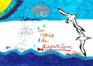 Réalisé par Justine Rivière, CM1, école des Neiges