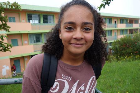 Annaelle (Crédit: collège de Trois-Bassins)
