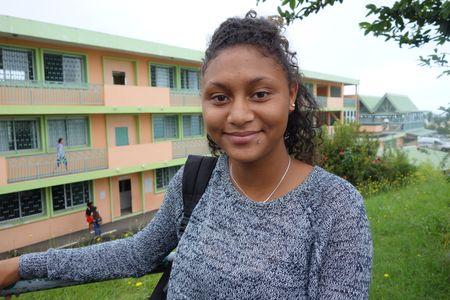 Loane (Crédit: collège de Trois-Bassins)
