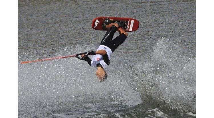 ski nautique lindsay bordier aux mondiaux en france