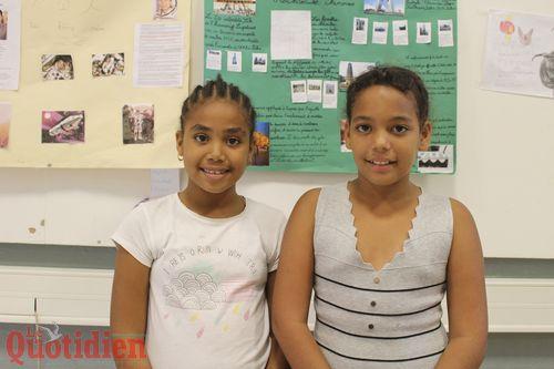 Queicha et Maïra. (Photo G. Gu)