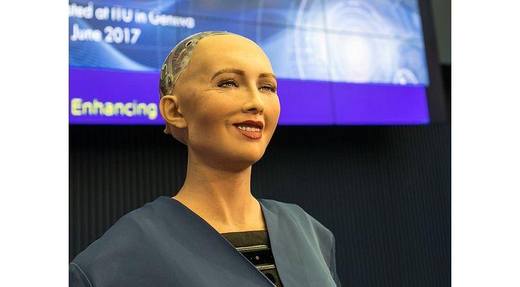 sophia robot ia