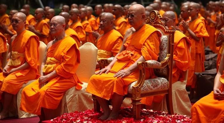 thailande moine