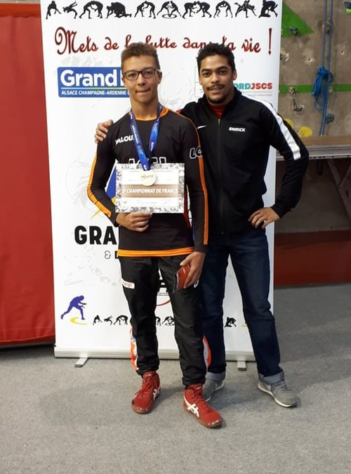 Théo Piffarelly bronze Chpt France gréco 12 avril 2019