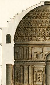 Dôme du Panthéon de Rome.